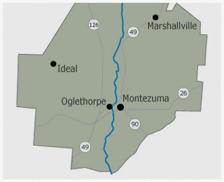 Macon County Map